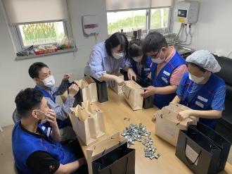 9월 전기버스 기계큐 팀 자조모임 실시- 사회환원활동(동림삼익아파트 정류장 방문)