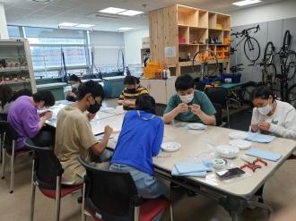 (09/15)광주발달장애인훈련센터 공예수업- 진주목걸이 만들기